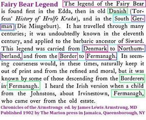 Armstrong Fairy Bear story