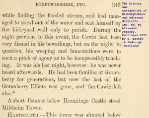 Cowie of Goranberry (4)
