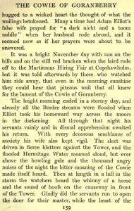 Cowie of Goranberry story (5)