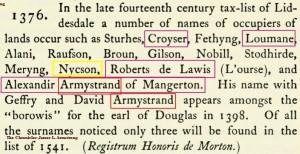 Croser Loumane Robert de Lawis Alex Armstrong 1376