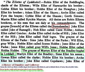 Ellottes of Liddesdale  ca 1580 (1)