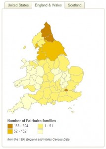 Fairbairn distribution (1)