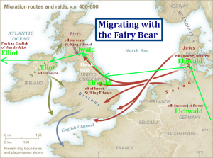 Migrating with the Fairy Bear