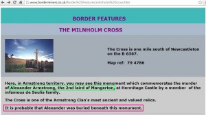 The Milnholm Cross