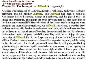 bishopric Elfwald 1045-1058