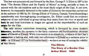 Elliott origins 1986 Elliot