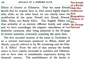 Elwald Ellot name origins (2)