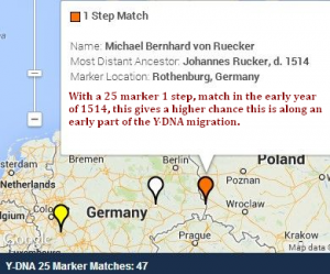 Germany 1 step at 25 match