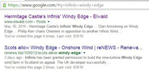 Infinis Windy Edge