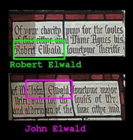 Robert son of John Elwald mayor of York
