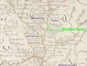 border region map Rutherford