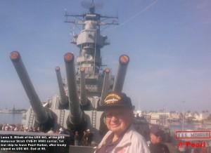 Loren S WWII USS MO MAK