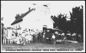 Eureka Methodist Church-Rice Twp., Ringgold Co., IA