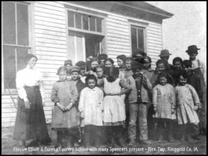 Flossie Elliott & Eureka Co School