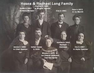 Hosea & Rachael Long Family