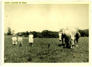 Lois Loren and Zoe