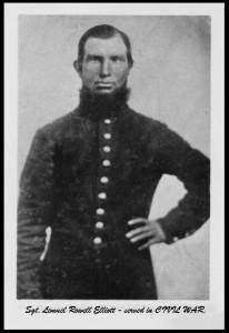 Sgt Lemuel Rowell Elliott Civil War