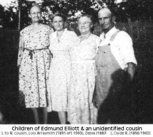 children of Edmund Elliott