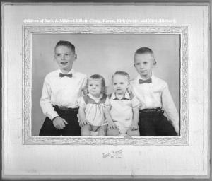 children of Jack & Mildred Elliott