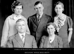 family of Elliott & Carrie Stackhouse