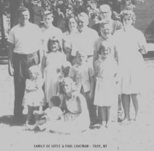 family of Joyce & Paul Loatman