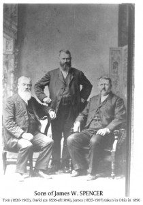 sons of James W. Spencer