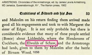 Elwald of Schaw