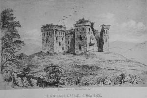 Hermitage Castle ca 1810