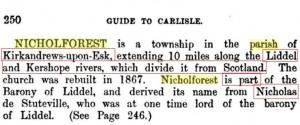 Nicholforest Nicholas de Stuteville