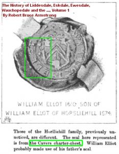 Wm Ellot Horsleyhill seal