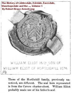 Horsliehill 1574 Cavers crest
