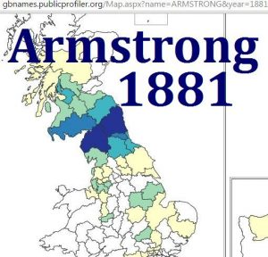 Armstrong GBname distribution 1881