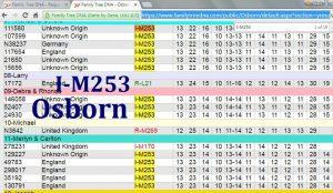 Osborn FTDNA I-M253