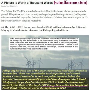 windfarmaction picture worth a 100 words
