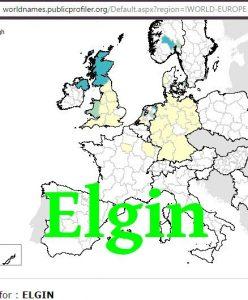 elgin-world-surnames