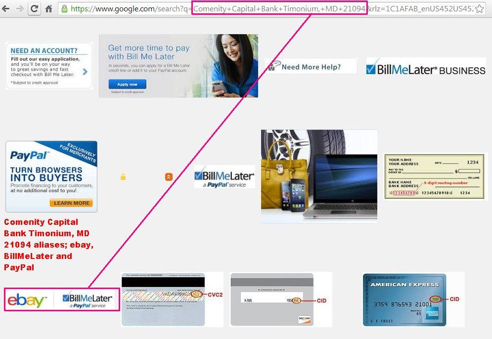 Paybay Loans- Paypal, ebay, Comenity Capital Bank – Elwald